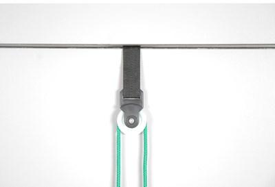 Cvičební nepružné lano, ramenní
