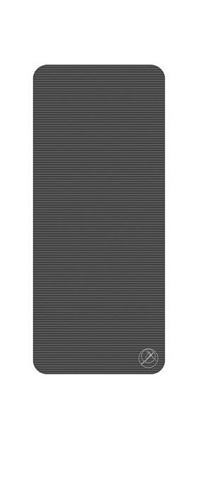 Podložka na cvičení, 140 x 60 x 1 cm, antracit