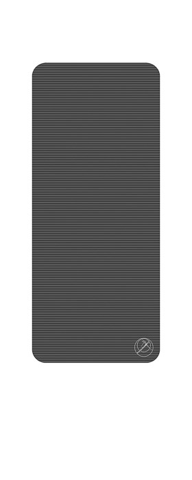 Podložka na cvičení, 140 x 60 x 1,5 cm, antracit