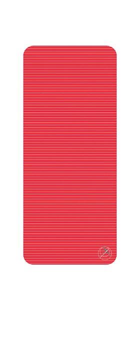 Podložka na cvičení, 140 x 60 x 1,5 cm, červená