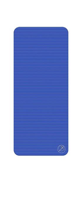 Podložka na cvičení, 140 x 60 x 1,5 cm, modrá