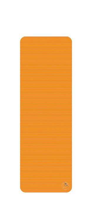 Podložka na cvičení, 180 x 60 x 1 cm, oranžová
