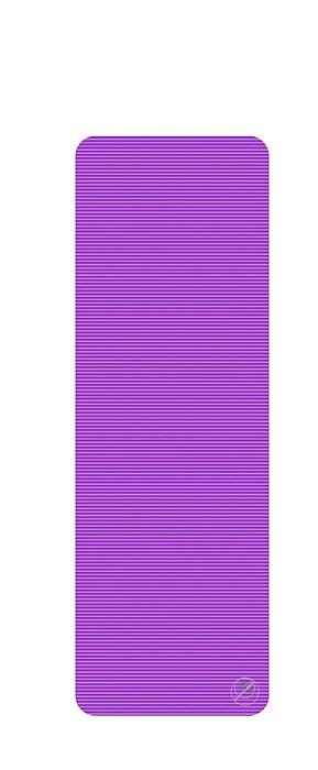 Podložka na cvičení, 180 x 60 x 1,5 cm, fialová