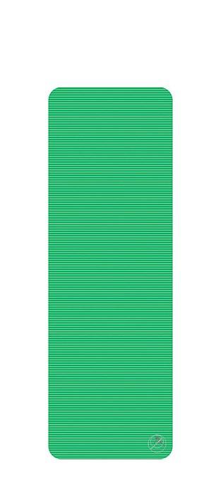 Podložka na cvičení, 180 x 60 x 1,5 cm, zelená