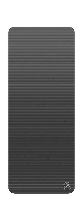 Podložka na cvičení Profi, 190 x 80 x 1,5 cm, antracit