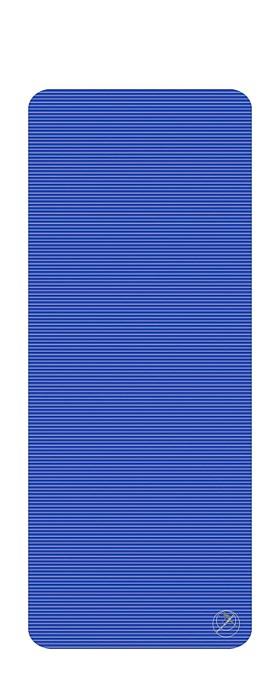 Podložka na cvičení, 190 x 80 x 1,5 cm, modrá