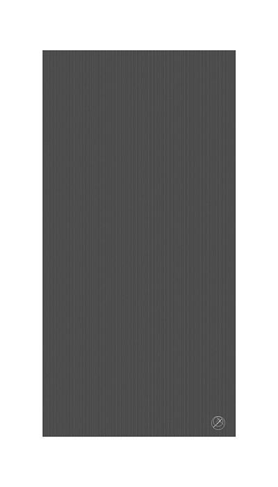 Podložka na cvičení REHA, 200 x 100 x 2,5 cm, antracit