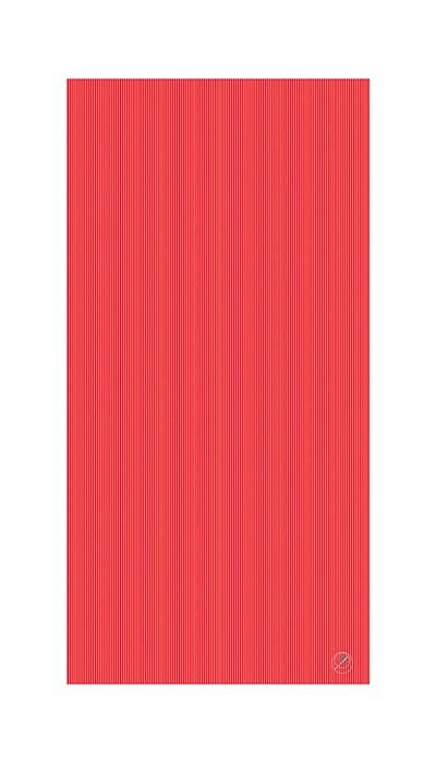 Podložka na cvičení REHA, 200 x 100 x 2,5 cm, červená