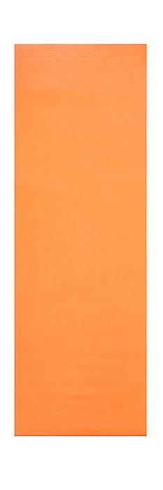 Podložka na cvičení YOGA, 180 x 60 x 0,5 cm, oranžová