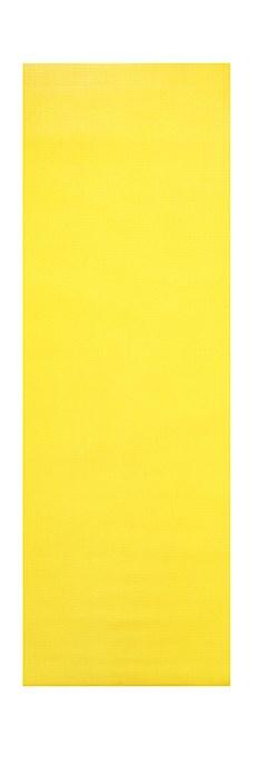 Podložka na cvičení YOGA, 180 x 60 x 0,5 cm, žlutá