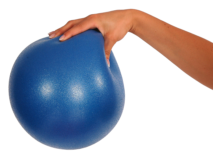 Overball Mambo, 26 cm, modrý