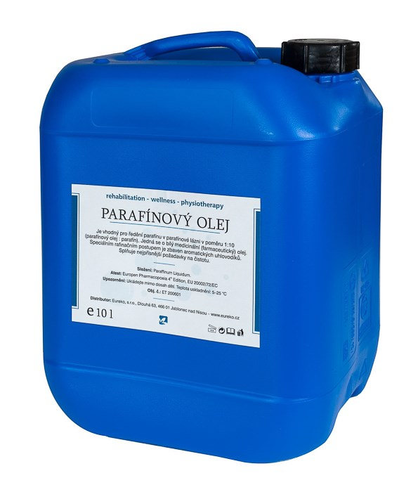 Parafínový olej v kanystru, 10 l