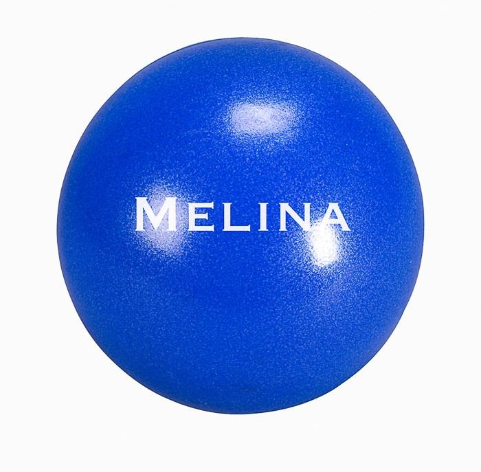 Gymnastický míč Pilates Melina, 22 cm, modrý