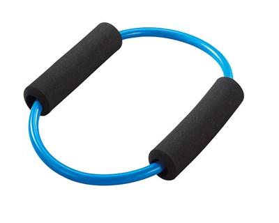 Posilovací kruh s madly, modrý