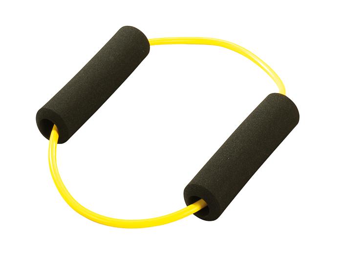 Trendy Sport Posilovací kruh s madly, žlutý