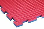 Tatami 20 mm COMPETITION standart, 100 x 100 x 2 cm, červená/modrá - další obrázek