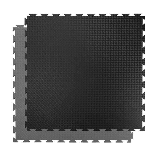 Tatami 20 mm COMPETITION standart, 100 x 100 x 2 cm, černá/šedá