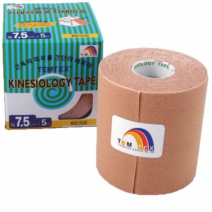 Temtex Tape Classic, 7,5 cm x 5 m, béžový
