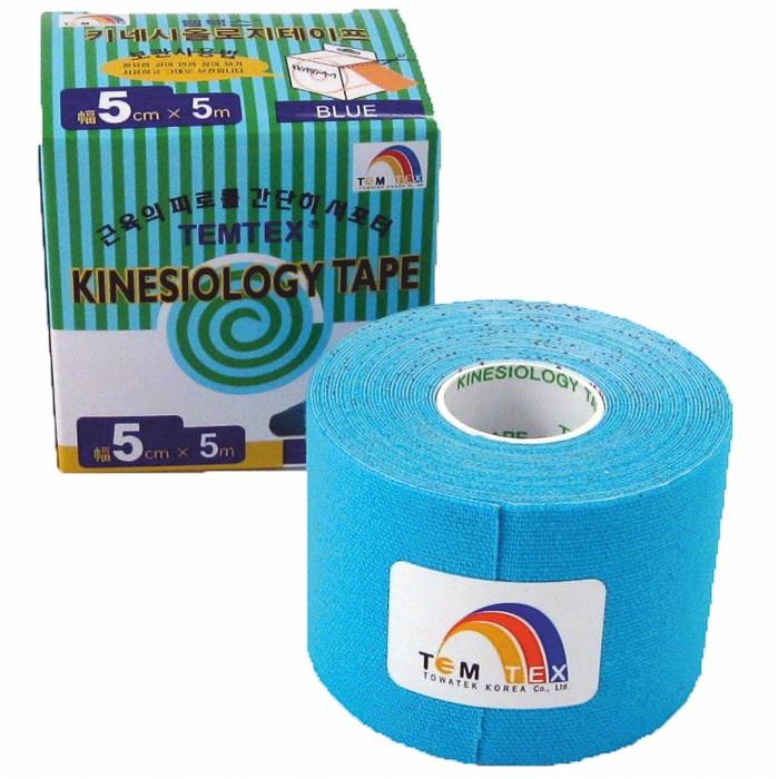 Temtex Tape Classic, 5 cm x 5 m, modrý