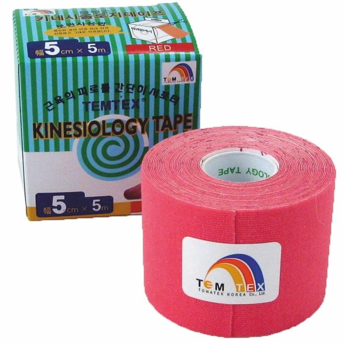 Temtex Tape Classic, 5 cm x 5 m, růžový