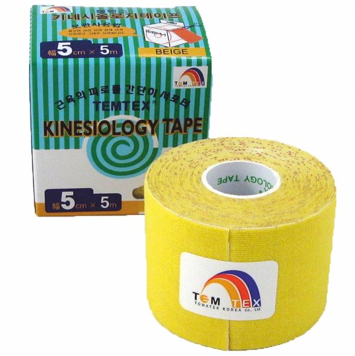 Temtex Tape Classic, 5 cm x 5 m, žlutý