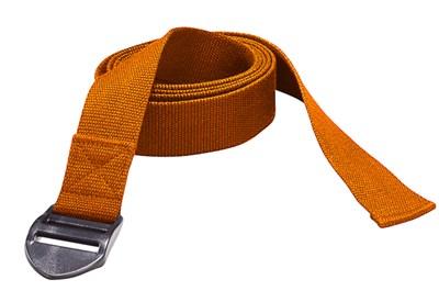 YOGA pásek, 190 x 4 x 0,2 cm, oranžový