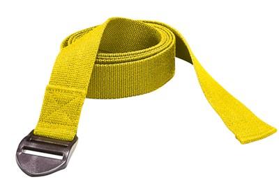 YOGA pásek, 190 x 4 x 0,2 cm, žlutý