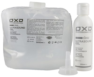 OXD ultrazvukový gel čirý, 5 l
