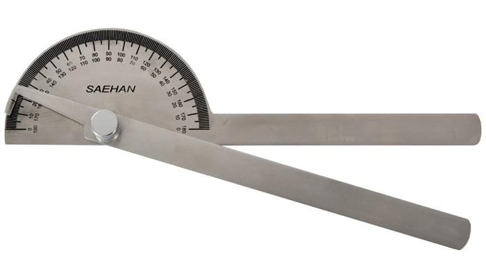 Goniometr kovový 20 cm/180°