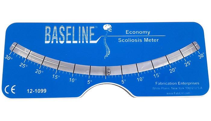 Plastový skoliometr Baseline