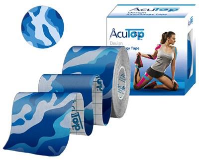 AcuTop Kinesiology Tape, 5 cm x 5 m, army modrý