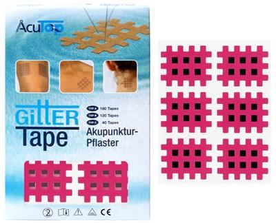 Kros Tape, 36 x 28 mm, 120 ks, růžový
