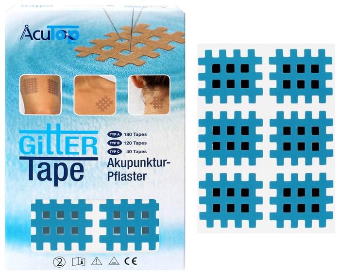 Kros Tape, 36 x 28 mm, 120 ks, modrý