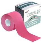 Nasara Tourmaline Kinesiology Tape, 5 cm x 5 m, růžový - další obrázek