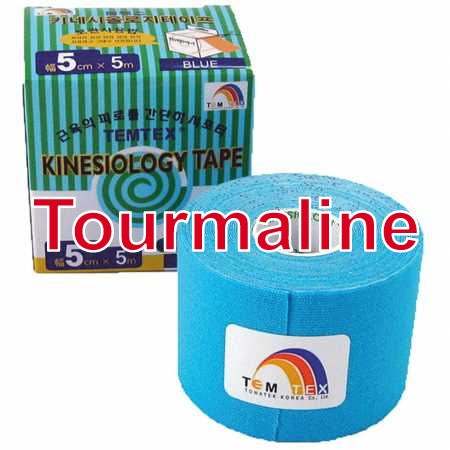 Temtex Tape Tourmaline, 5 cm x 5 m, modrý