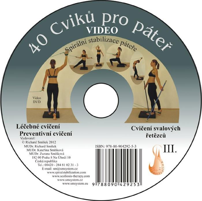 DVD 40 minut cvičení