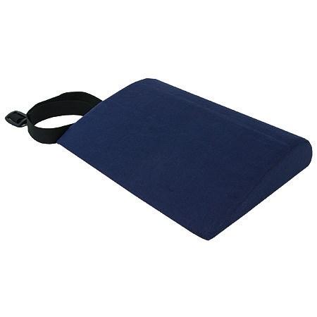 Bederní podpora s potahem, 28 x 25 cm, tmavě modrá