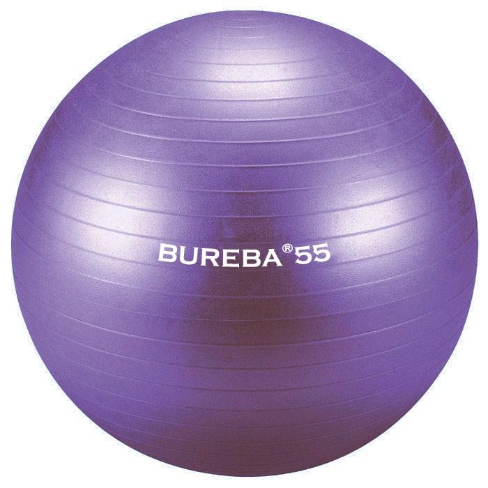 Cvičební gymnastický míč MEDI BuReBa, 55 cm, fialový