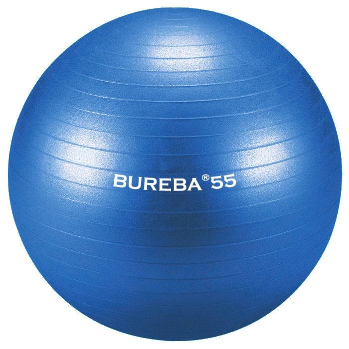 Cvičební gymnastický míč MEDI BuReBa, 55 cm, modrý