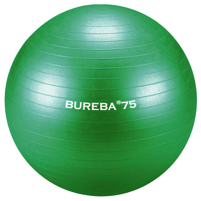 Trendy Sport Cvičební gymnastický míč MEDI BuReBa, 75 cm, zelený