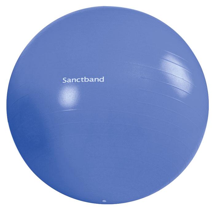 Sanctband Cvičební gymnastický míč 75 cm, borůvka