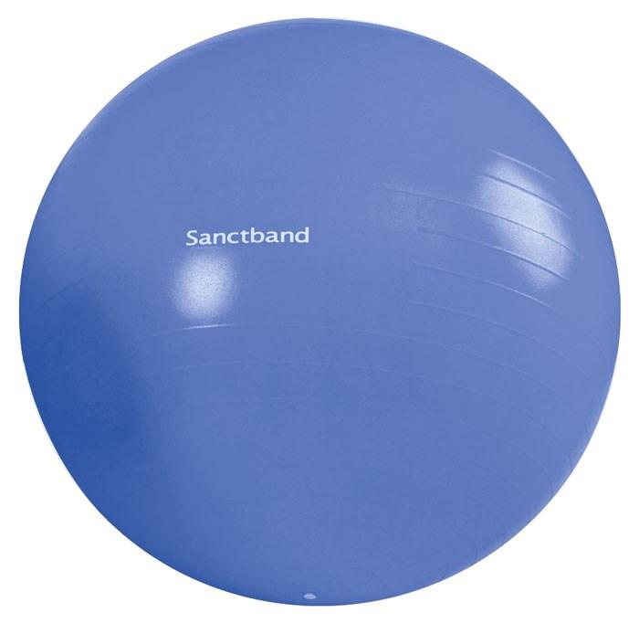 Cvičební gymnastický míč Sanctband 75 cm, borůvka