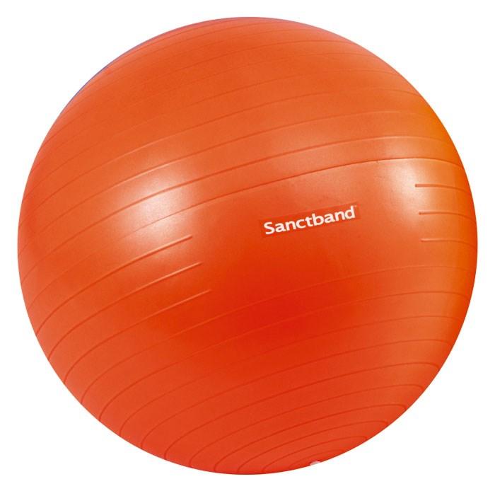 Cvičební gymnastický míč Sanctband 55 cm, pomeranč