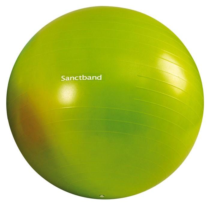 Cvičební gymnastický míč Sanctband 65 cm, limetka