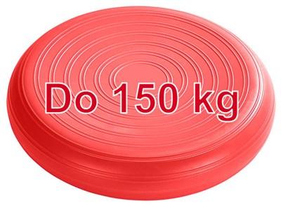 Masážní podložka Bamusta Coxim, hladká, 36 cm, červená