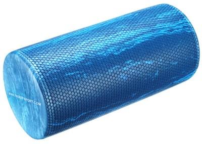 Pilates válec, 30 cm x průměr 15 cm, modrý