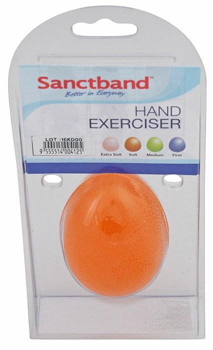 Posilovač rukou Sanctband, měkký, pomeranč