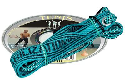 CD Tenis + elastické lano SM systém 1 ks