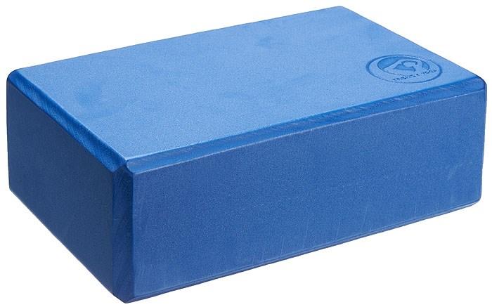 YOGA blok, 23 x 15 x 7,5 cm, modrý