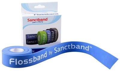 Kompresní guma Flossband by Sanctband, 2,5 cm x 2 m, borůvka, střední